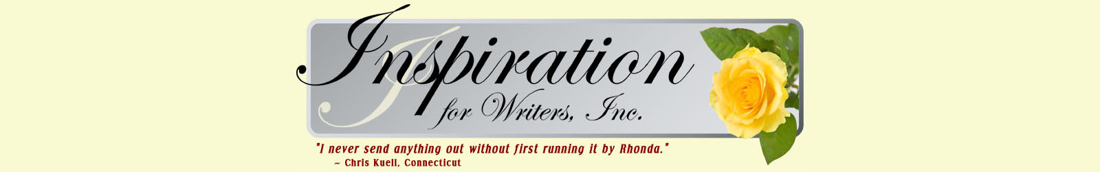 The Basics | Inspiration for Writers, Inc